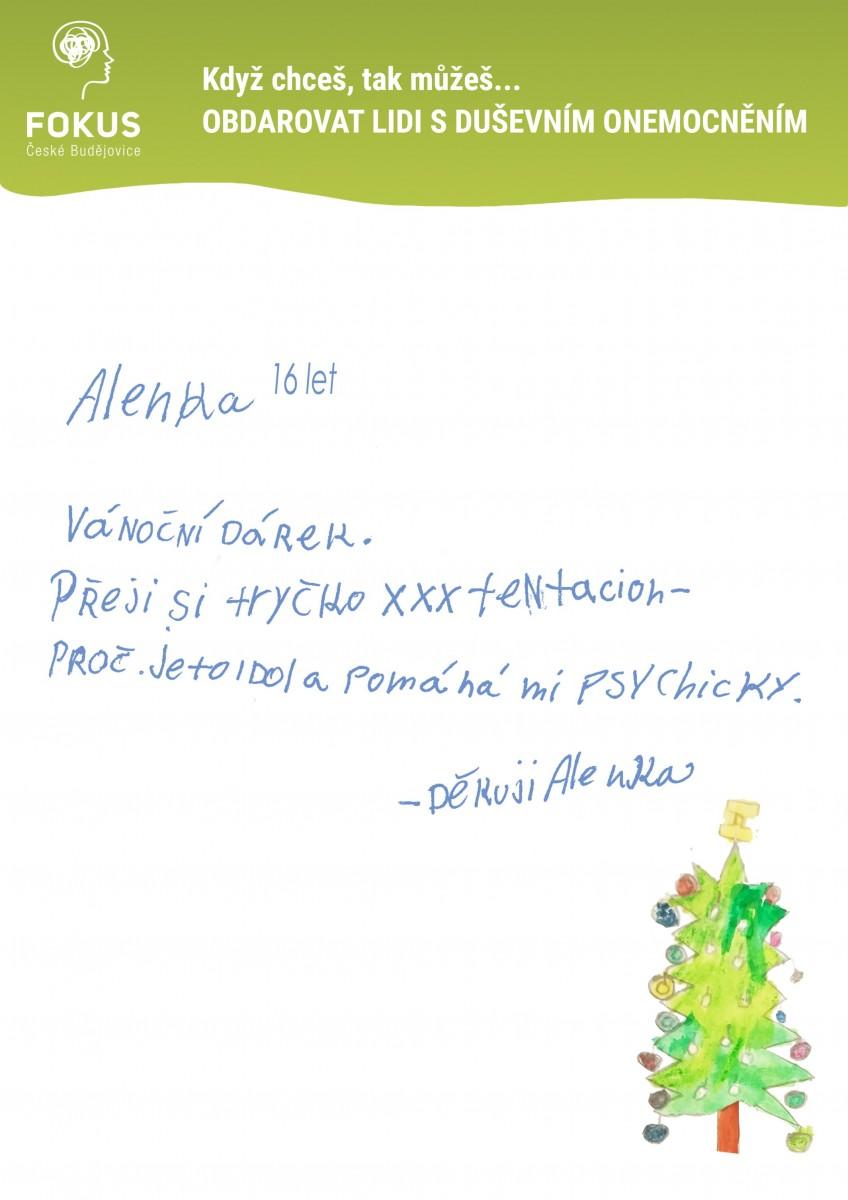 Vanoce-Alenka