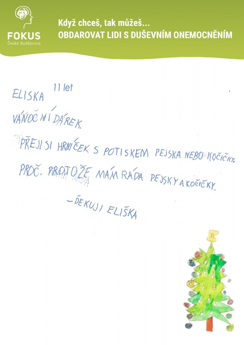 Vanoce-Eliska