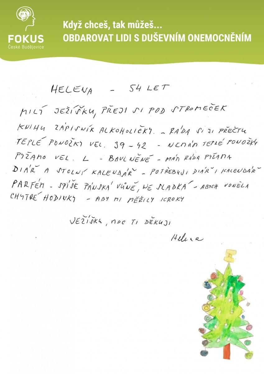 Vanoce-Helena