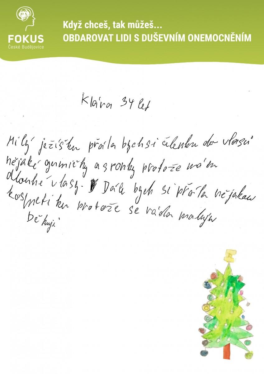 Vanoce-Klara