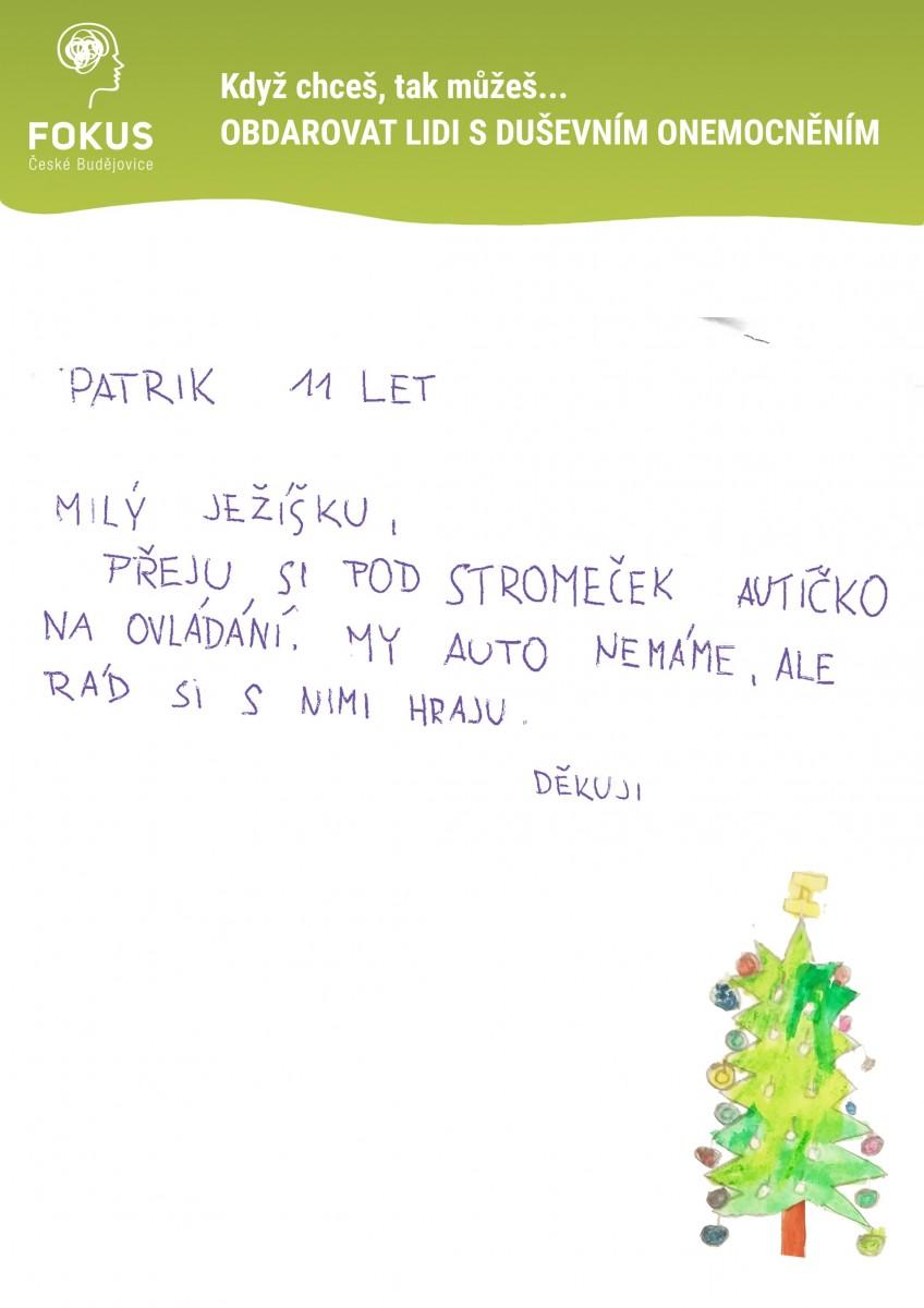 Vanoce-Patrik